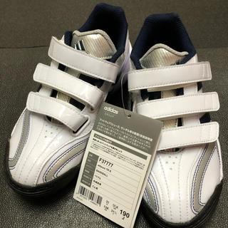 アディダス(adidas)の【未使用】 adidas 19.0cm 野球 トレーニングシューズ 【迅速発送】(シューズ)