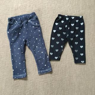 ムージョンジョン(mou jon jon)の80センチ ズボンとレギンス 女の子用(パンツ)