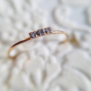 ジュピターゴールドレーベル(jupiter GOLD LABEL)のジュピター K18 ダイヤモンド ピンキーリング(リング(指輪))