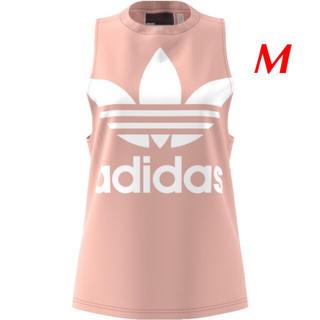 アディダス(adidas)の【レディースM】ピンク  タンクトップ(タンクトップ)