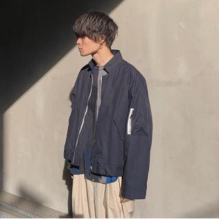 サンシー(SUNSEA)のANITYA flight jacket(フライトジャケット)