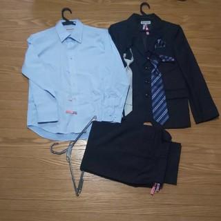 0a97b03ebd301 シマムラ(しまむら)の150cm ストライプスーツ5点セット(ドレス フォーマル)