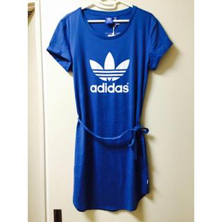 アディダス(adidas)の【みー様専用】アディダスオリジナルス★ワンピース L(ミニワンピース)