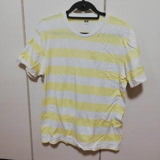 ユニクロ(UNIQLO)のメンズ ボーダーTシャツ(Tシャツ/カットソー(半袖/袖なし))