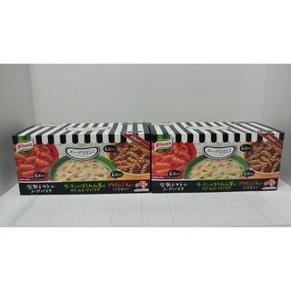 アジノモト(味の素)のクノール スープDELI バラエティボックス 18袋入 2箱 新品未使用(インスタント食品)