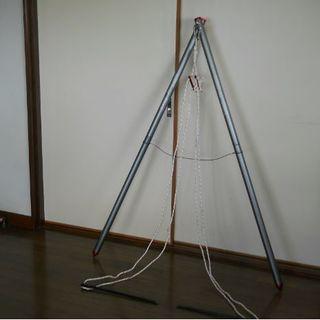 【GW前 最終値下げ】コールマン アルミハンモックスタンド(寝袋/寝具)