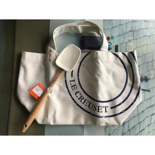 ルクルーゼ(LE CREUSET)のLE CREUSET ル・クルーゼ スパチュラ&非売品トートバック(調理道具/製菓道具)