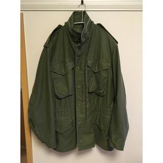 アルファ(alpha)のm-65 フィールドジャケット アルミジッパー S-R(ミリタリージャケット)