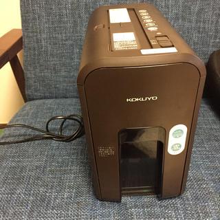 コクヨ(コクヨ)のコクヨ シュレッダー マイクロカット ホワイト AMS-MC20W 電動(オフィス用品一般)
