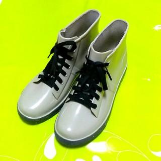 スニーカー風 レインブーツ(レインブーツ/長靴)