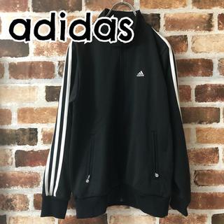 アディダス(adidas)の[ adidas ]アディダス トラックジャケット 黒 ブラック レディース M(その他)
