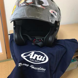アライテント(ARAI TENT)のアライ バイクヘルメット MZ-F 65~66cm グラスブラック(ヘルメット/シールド)
