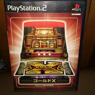 プレイステーション2(PlayStation2)の中古playstation2パチスロ ゴールドX(家庭用ゲームソフト)