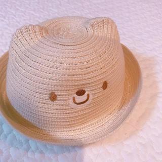 ニシマツヤ(西松屋)のくまさん❤︎麦わら帽子(麦わら帽子/ストローハット)