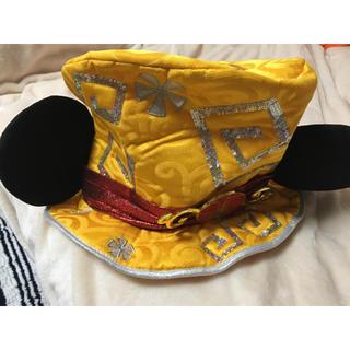 ディズニー(Disney)のディズニー かぶりもの 帽子(キャラクターグッズ)