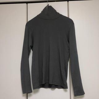 アタッチメント(ATTACHIMENT)のATTACHMENT タートルネック Tシャツ  グレー(Tシャツ/カットソー(七分/長袖))