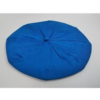 イーハイフンワールドギャラリー(E hyphen world gallery)の帽子 ベレー帽 E hyphen world gallery ブルー フリー(ハンチング/ベレー帽)