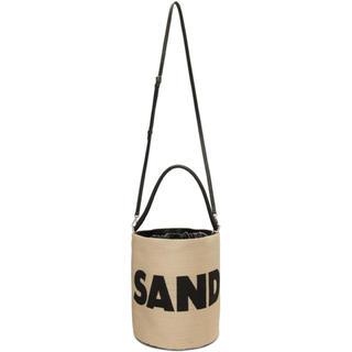 ジルサンダー(Jil Sander)のSPUR4月号掲載 Jil Sander ドローストリング バスケット バッグ(かごバッグ/ストローバッグ)