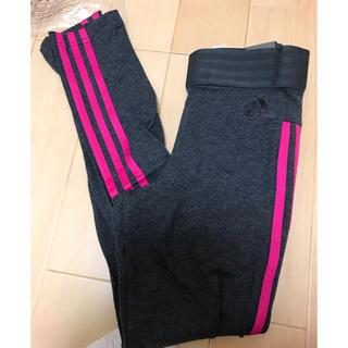 アディダス(adidas)の【新品】アディダス3本ラインタイツ(レギンス/スパッツ)