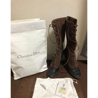 クリスチャンディオール(Christian Dior)の正規本物新品未使用 Christian Dior ブーツ size38(ブーツ)