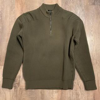 JILSANDER halfzip knit