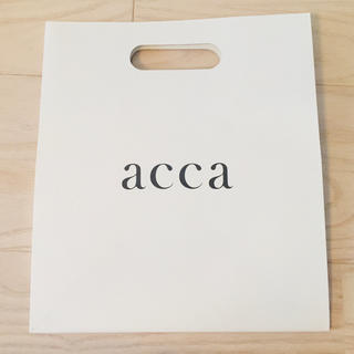 acca - acca ショッパー 美品
