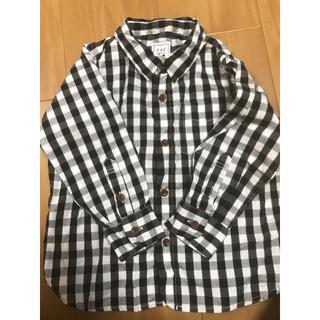 アーバンリサーチ(URBAN RESEARCH)のFORK&SPOON 90cm ギンガムチェックシャツ(その他)