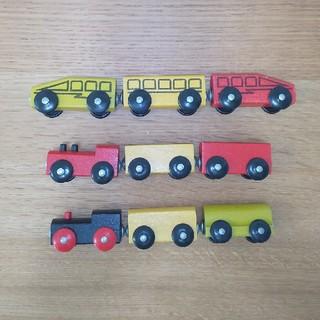 イケア(IKEA)のIKEA レールトイ 車両セット(電車のおもちゃ/車)
