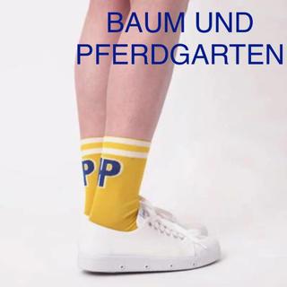 BAUM UND PFERDGARTEN - 新品 バウムウンドヘルガーデン レディース ソックス 靴下 LALASOCKS