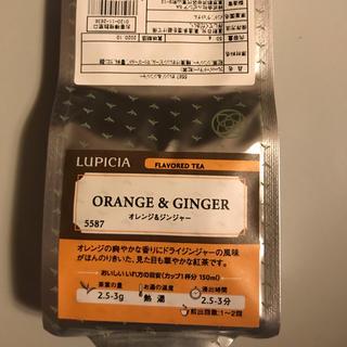 ルピシア(LUPICIA)のルピシア リーフティー オレンジ&ジンジャー(茶)