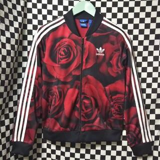 アディダス(adidas)のadidas 薔薇柄ジャージ RED CLASH バラ柄 花柄(その他)