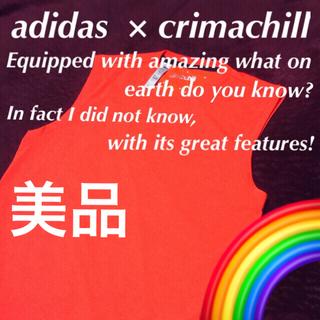 """アディダス(adidas)の♦️【adidas】通称 """" 第二の肌 """" ☆‼️未使用品 ノースリーブ (タンクトップ)"""
