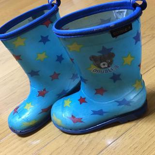 ダブルビー(DOUBLE.B)のダブルビー♡長靴♡16センチ(長靴/レインシューズ)