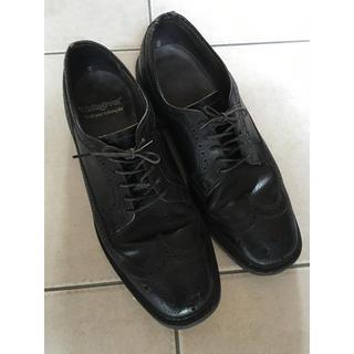 レッドウィング(REDWING)のwalk over ウォークオーバー ウイングチップ ブラックレザー USA製 (ドレス/ビジネス)