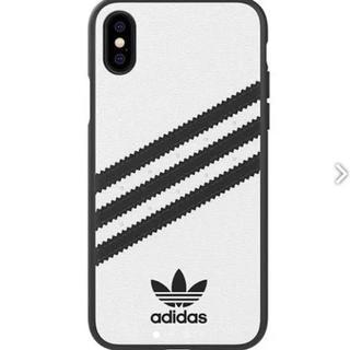 アディダス(adidas)の【値下げ中】【新品・正規品】adidas iPhoneXケース(iPhoneケース)