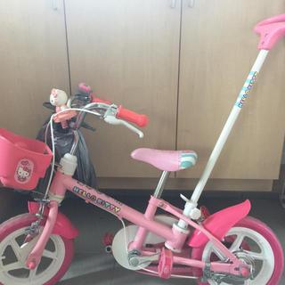 ハローキティ(ハローキティ)のハローキティ 子供 自転車 12インチ(自転車)