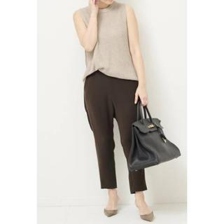 ドゥーズィエムクラス(DEUXIEME CLASSE)のドゥーズィエムクラス 美品3月購入   Sarouel パンツ 38 ブラウン (サルエルパンツ)