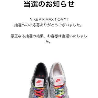 ナイキ(NIKE)のナイキ エアマックス 1 on air Yuta Takuman(スニーカー)