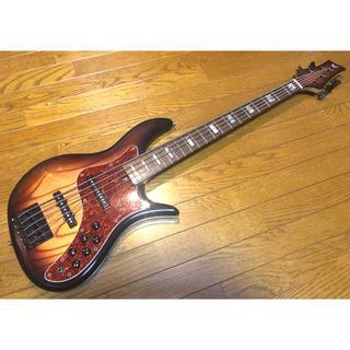 F-bass VF5 ash&rosewood 希少品(エレキベース)