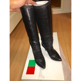 ギンザカネマツ(GINZA Kanematsu)のGinza KANEMATSU ロングブーツ 22.5cm(ブーツ)