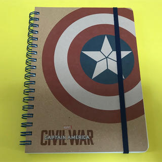 MARVEL - 【未使用品】Marvel キャプテンアメリカ アイアンマン リングノート
