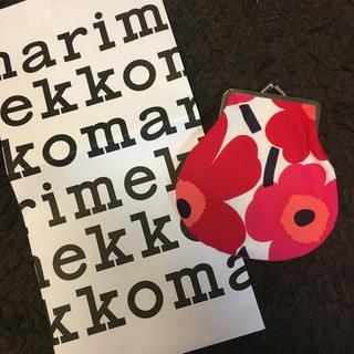 マリメッコ(marimekko)のマリメッコ がま口 財布(コインケース)