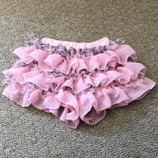 panpantutu(パンパンチュチュ)フリフリボトム ブルマスカート Sサイズ(スカート)