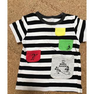 マーキーズ(MARKEY'S)のマーキーズ ミッキーボーダーTシャツ(Tシャツ/カットソー)