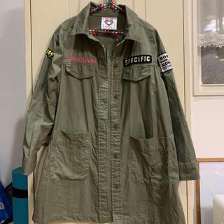 しまむら - ミリタリーシャツ  140cm