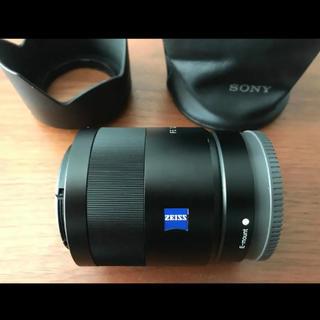 ソニー(SONY)のSEL55F18Z ツァイス レンズ ソニー Eマウント(レンズ(単焦点))