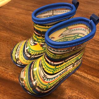 キッズフォーレ(KIDS FORET)のレインブーツ 新幹線 13cm(長靴/レインシューズ)