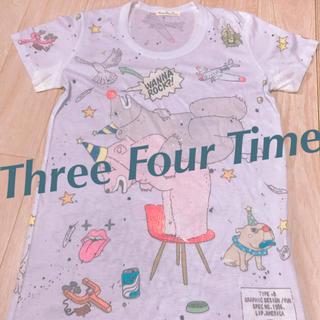 スリーフォータイム(ThreeFourTime)のスリーフォータイム ROCK Tシャツ (シャツ/ブラウス(半袖/袖なし))