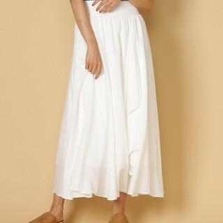 アンドクチュール(And Couture)の専用ホワイトスカート(ロングスカート)