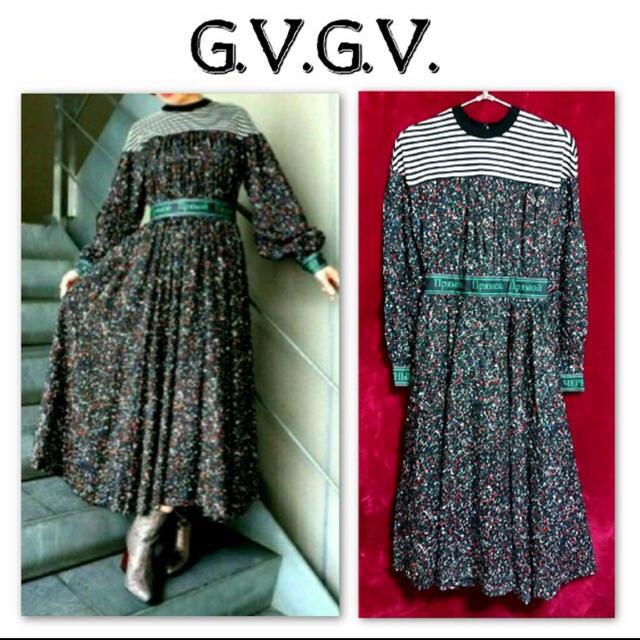 G.V.G.V.(ジーヴィジーヴィ)のg.v.g.vのワンピ レディースのワンピース(ロングワンピース/マキシワンピース)の商品写真